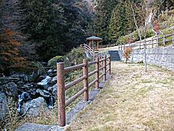 土々呂の滝周辺整備工事